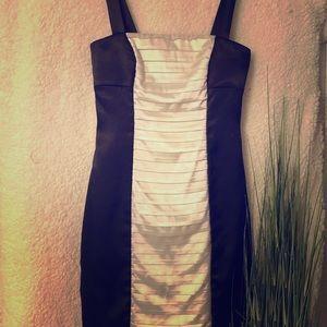 Black & White Dress ▪️ sz small ▪️ cute fit!